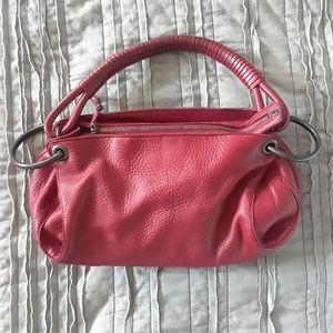 Bottega Veneta Red Leather Hobo